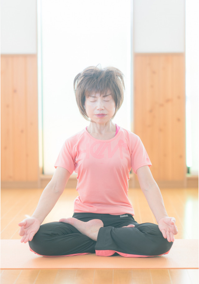 ヨ-ガの瞑想