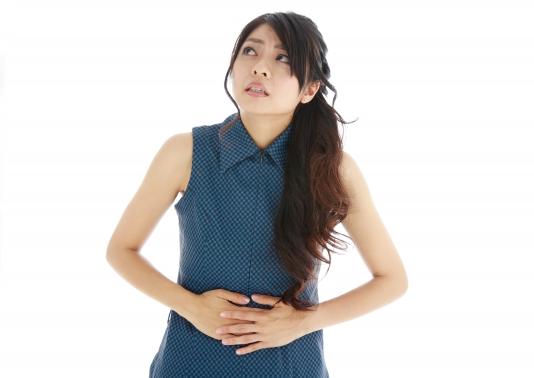 過敏性腸症候群の女性