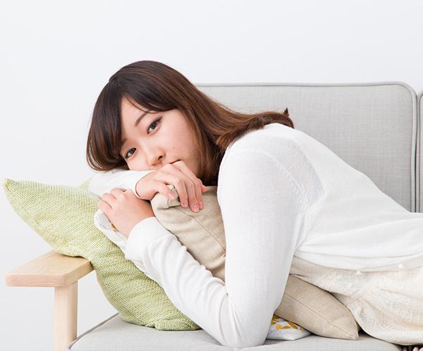 慢性疲労に悩む女性